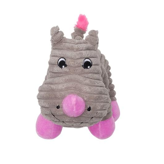 Dogit Stuffies Gray Rhino