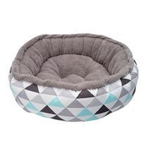 Dogit Donut Bed Geometric SML