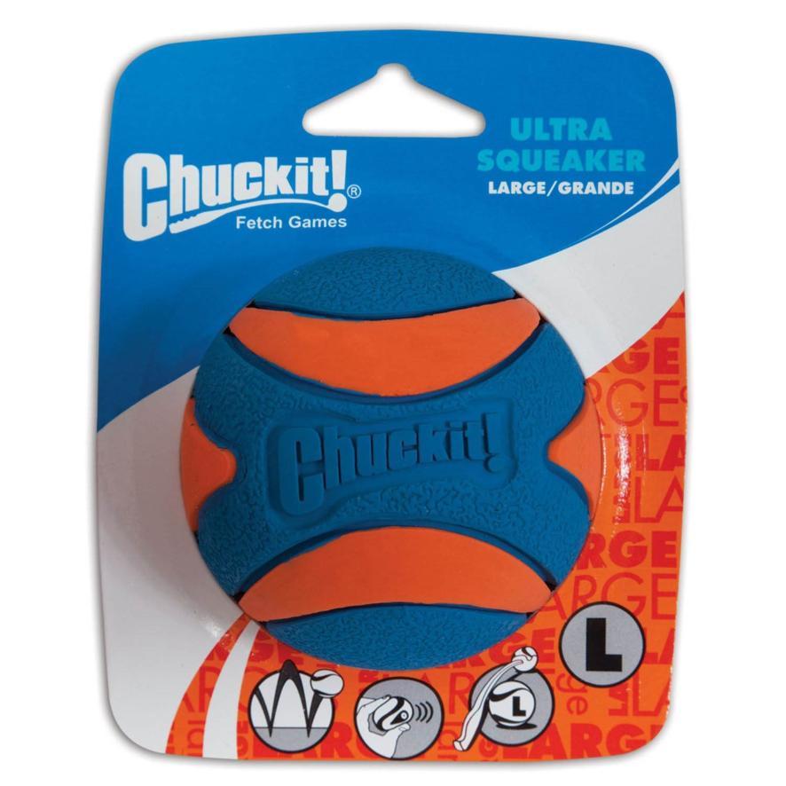 Chuckit Ultra Squeaker Large Ball